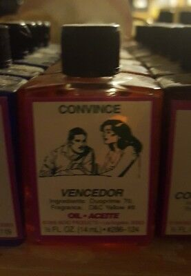 CONVINCE Ritual Oil Spells Wicca PAGAN Witchcraft Hoodoo 1/2 OZ WICCAN Occult