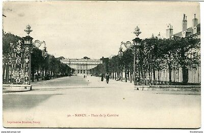 CPA - Carte postale -France - Nancy - Place de la Carrière - 1906 (CP428)