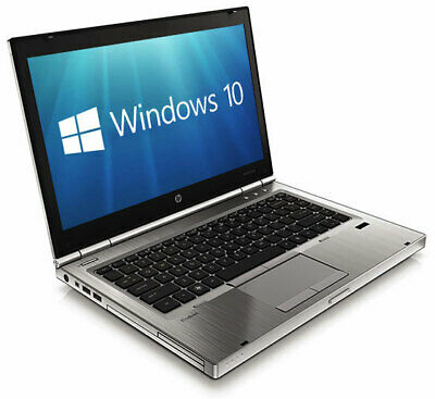 "HP EliteBook 8470p 14.1"" 8GB 120GB SSD USB 3.0 WiFi Win 10 Pro Laptop PC"