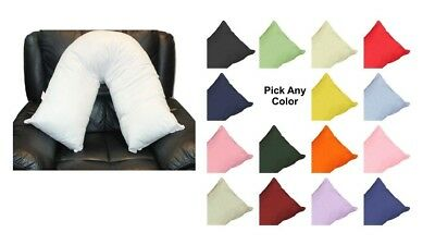 V Neck Pillow Case Premium Quality Choose From 15 Vibrant Colors 30% off RRP