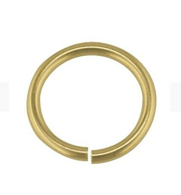 100% Genuine Solid 9ct Gold 5mm Jump ring for Charm chain Necklace bracelet
