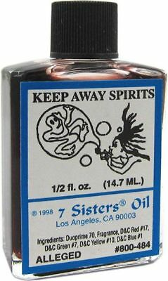 KEEP AWAY SPIRITS Ritual Oil Spell Wicca PAGAN Witchcraft 1/2 OZ ward off JINX