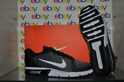 NIKE AIR MAX Sequent 2 Mens Red Black Running Training