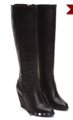 317ce7e2307 FRYE CECE SEAM Tall Women s US 10 Black Knee High Boot -  200.00 ...