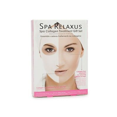 Spa Relaxus Collagen Treatment Gift Set - 6-Pack - Facial Mask Treatments