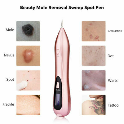Electric LED Laser Spot Removal Pen Face Body Mole Freckle Scar Tattoo Remover