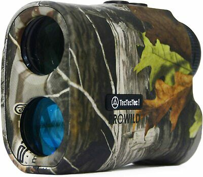 TecTecTec ProWild Hunting Rangefinder - 6x24 Laser Range Finder for Hunting w...