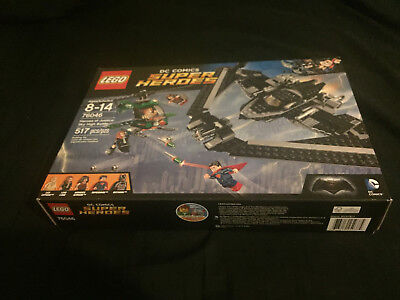 Brand New Un-Opened SEALED - LEGO Super Heroes of Justice: Sky High Battle 76046
