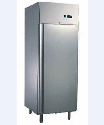 Commercial Upright Freezer Single Solid Door 550L 304 Stainless Steel