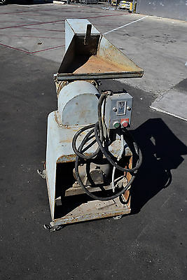 ball & jewell Destruction Granulator 7.5 HP Plastic Poly Grinder Midget 201 6