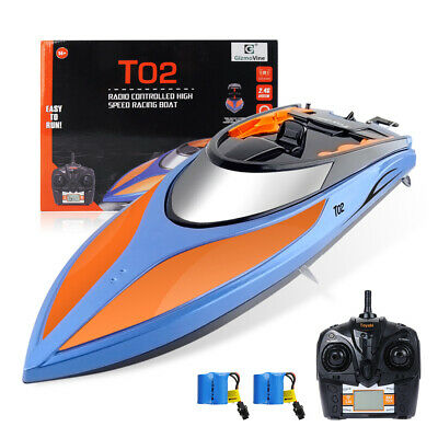 High Speed Racing 2.4G 4CH RC Boat Water Cooling Lightning RTR + 2 Batteries AU