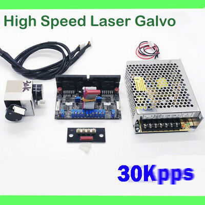 30KPPS HIGH SPEED galvo scanner for laser show lighting/RGB Laser