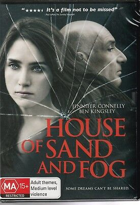House Of Sand And Fog Jennifer Connelly Ben Kingsley Brand New R4 Dvd In Plastic