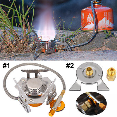 3500W Portable Outdoor Picnic Gas Burner Foldable Camping Mini Steel Stove SG