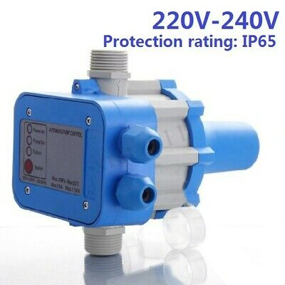 220V-240V IP65 Automatic Electronic Switch Water Pump Pressure Controller Unit