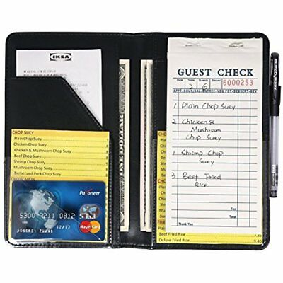 Guest Checks Waiter Book Server Wallet Pads Waitress Book Restaurant Waitstaff