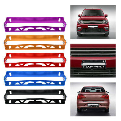 Universal Car Styling Aluminum License Plate Frame Number Plates Covers Holders