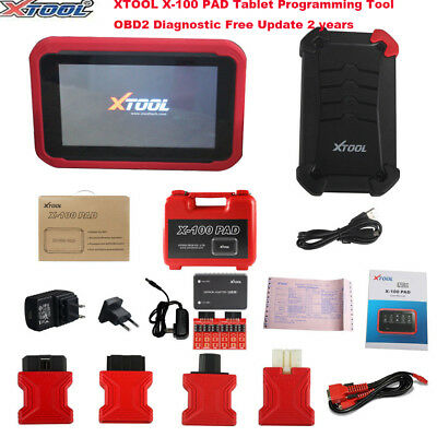 XTOOL X-100 PAD Tablet Programming Tool OBD2 Diagnostic Tool Free Update 2 years