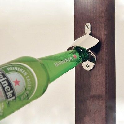 Wall Mounted Opener Bottle Opener Bar Beer Soda Cap Tools Fixed Wine Openers