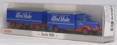 "H0 Wiking PMS 209378 Post Museum Krupp Titan ""Alfred Mader"" Serie 800 in 1:87"