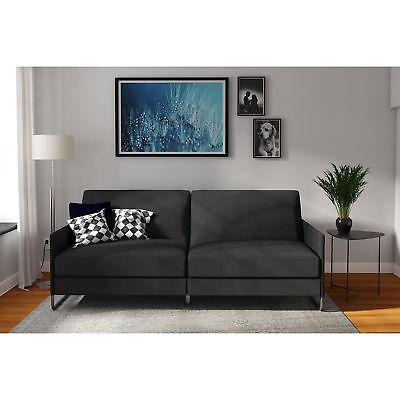 Convertible Futon Sofa Bed Chaises Loveseat Lounger Furniture Home