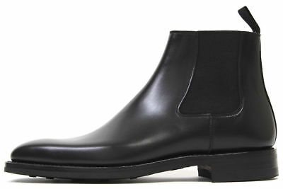 55fe928df4 Mens Jodhpurs High Ankle Real Leather Boots Handmade Chelsea Formal Shoes