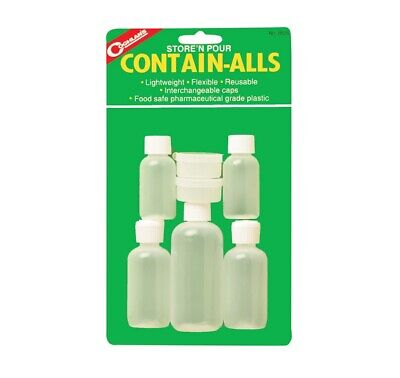 59af21bfe8 Coghlan's 8525 Store N' Pour Contain-Alls Containers, Plastic