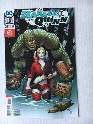 DC Comics: Harley Quinn #38 Variant Cover (2018) BN Bagged and Boarded