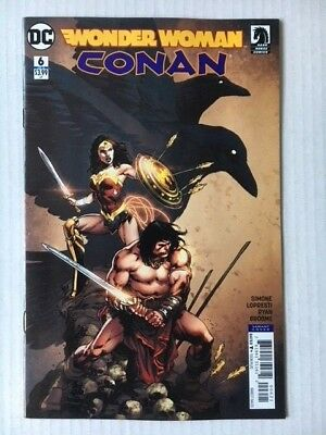 DC Comics: Wonder Woman/Conan #6 of 6 Variant Cover (2018) Bagged and Boarded BN