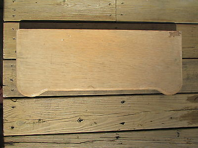 RARE! Antique Toilet Tank Cover Solid Wood Vintage Wooden New England Barn Find