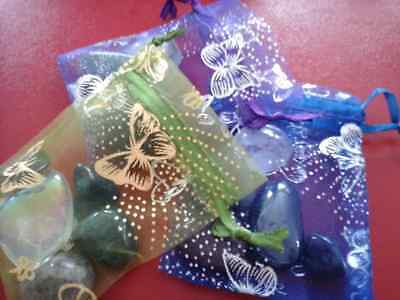 Healing Crystals Bag Group 14 to help cope with Autism, Dyspraxia & Aspergers