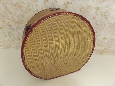 Antique Hat Train-Luggage-Box  As Shown