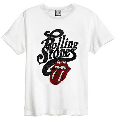 8fa556c9c The Rolling Stones 'Licked' (White) T-Shirt - Amplified Clothing -