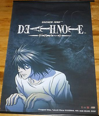 Shonen Jump's Deathnote  Banner 41 inches x 31 ininches Wall Hanging