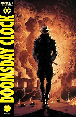 Doomsday Clock #4 Variant - Dc - Release Date 28/03/2018