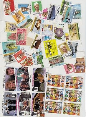 BRITISH COMMONWEALTH MNH (40 Different Stamps) x15