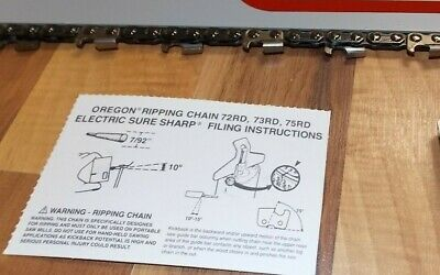 Oregon Bar// 2 Chain Combo for Stihl 044,066,MS440,MS441 others