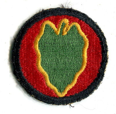 24TH INFANTRY DIVISION Original WW2 US Army Patch