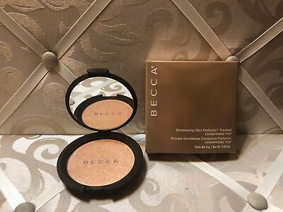 Becca ~ Shimmering Skin Perfector Pressed Powder ~ Champagne Pop ~ 0.28 Oz Boxed