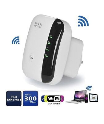 WiFi Repeater 300Mbps Range Extender, Wireless Network Amplifier, Mini AP Router