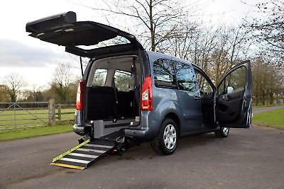 Peugeot Partner 1.6HD 5 seats  WAV wheelchair accessible car, disabled car,