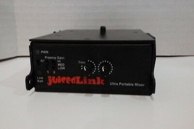 Juicedlink CX211 portable mixer preamp