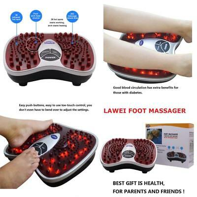 New Foot Spa Massager Vibrating with Heat Infrared Stimulates Blood Circulation