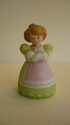 """AVON  Fine Collectibles   """"A Mother's Love""""   Porcelain Bell  NEW"""