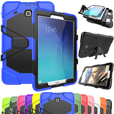 "Heavy Duty Shockproof Case Cover For Samsung Galaxy Tab A A6 7"" 10.1"" T580 T280"