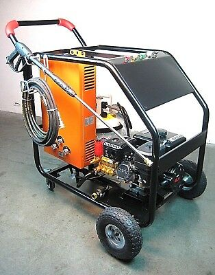 Hot Pressure Washer Lpg Instant Heat 3200Psi With Free Propane Tank
