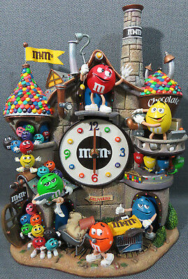 M&M's Danbury Mint M&M Clock chocolate factory