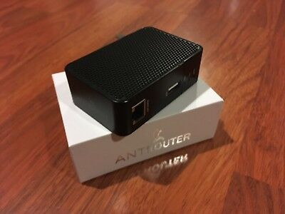 Scrypt mining WLAN WIFI ROUTER Antrouter R1-LTC - Litecoin Miner + EU Adapter