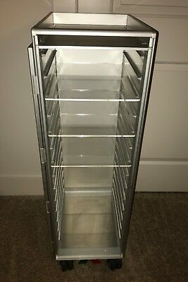 ATLAS Acrylic Shelves for Aircraft Galley Cart Airline Food Drink Bar Trolley