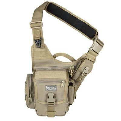 Maxpedition Fatboy Versipack 0403K Khaki Single Shoulder Strap Waist Bag